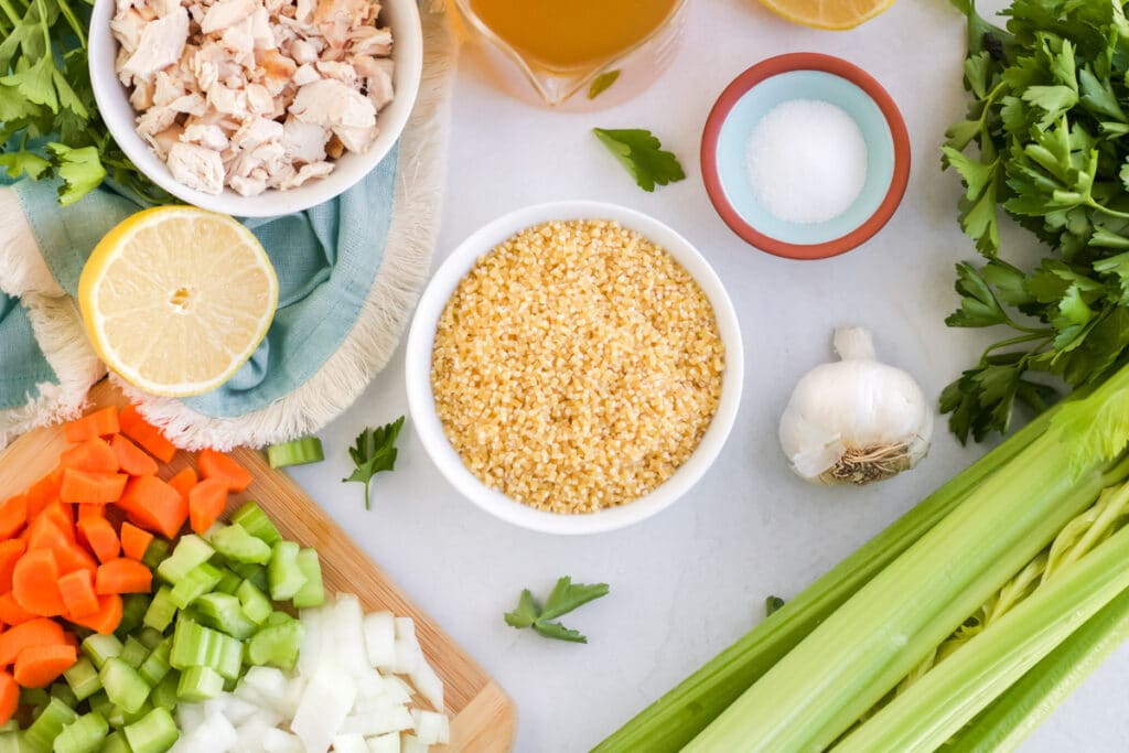 ingredients for chicken pastina soup