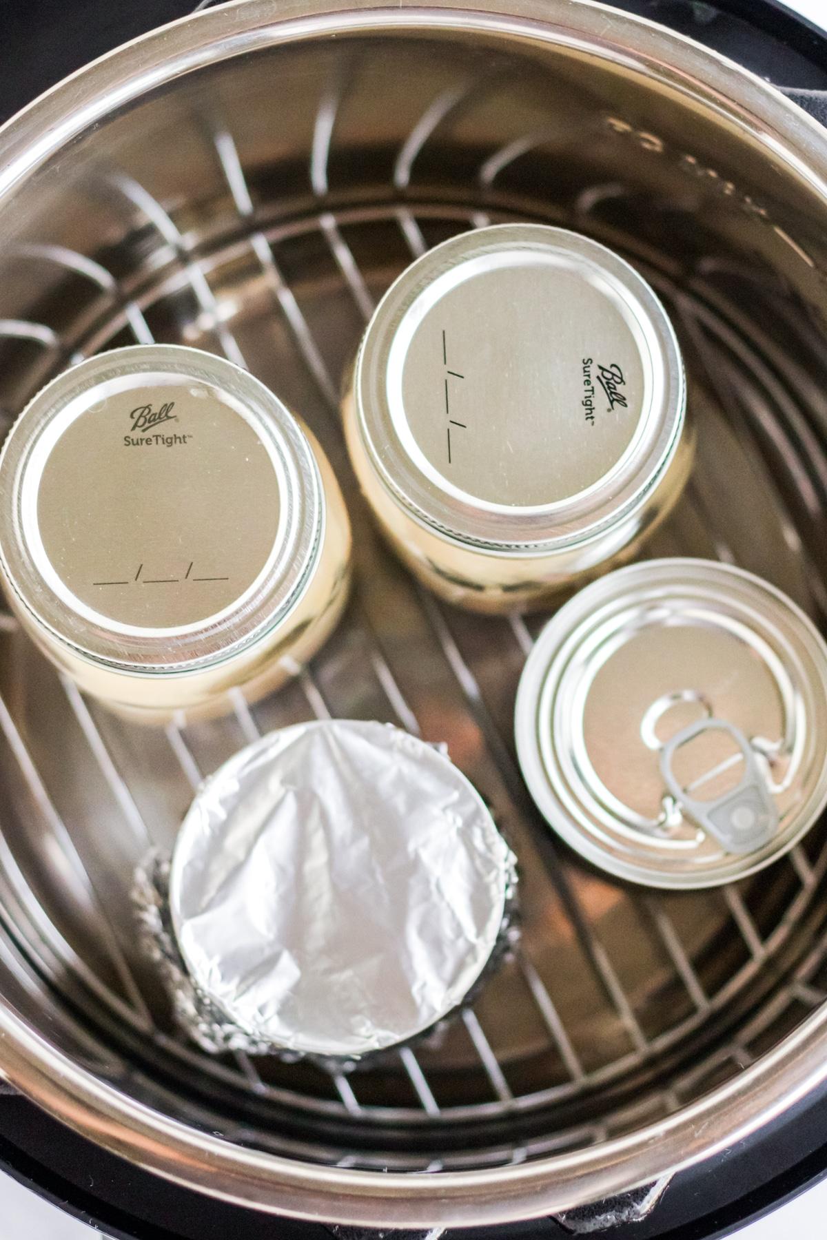 instant pot dulce de leche cooking