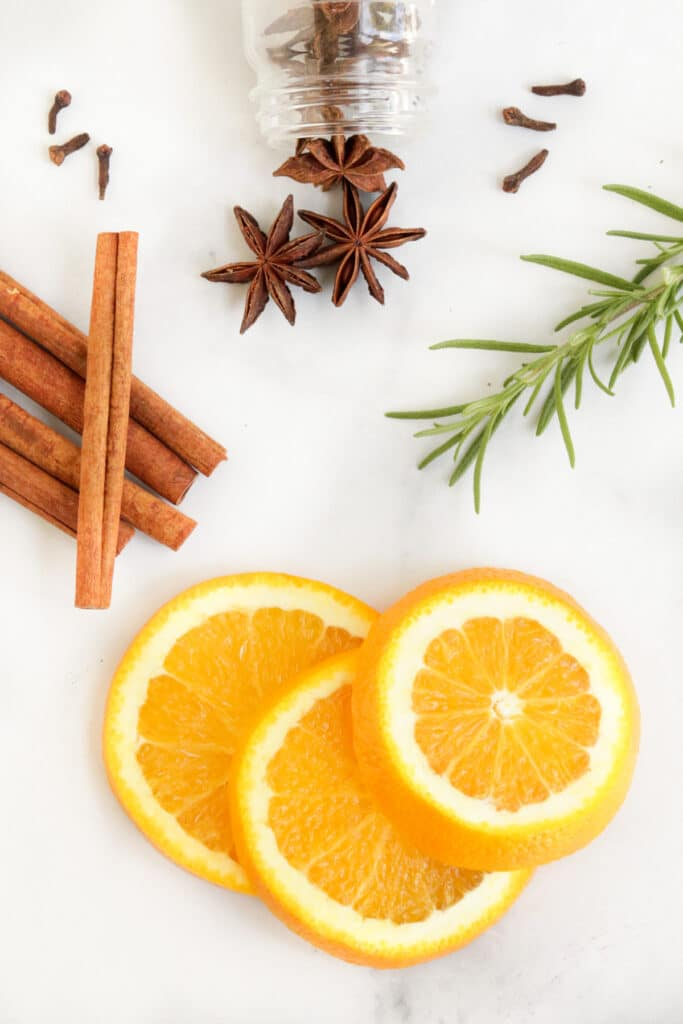ingredients needed for mulled wine recipe